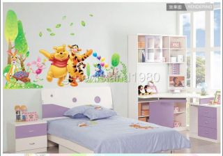 Winnie The Pooh Tiger IV Removable Wall Sticker Decal for Kids Decor Home AU