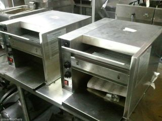 Used APW Wyott Commercial Conveyor Toaster Oven Heavy Duty at 10 Electric 120V