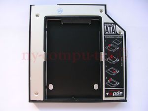 "2 5"" 12 7mm PATA IDE to SATA 2nd HDD Hard Drive Disk Caddy for Dell Inspiron XPS"