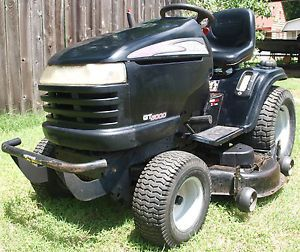 "2005  Craftsman GT5000 25 HP Kohler 48"" Cut Lawn Tractor Riding Mower"
