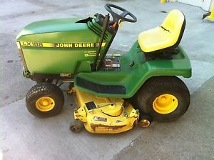 "John Deere LX188 48"" Riding Mower Lawn Tractor 17hp Kawasaki Engine"