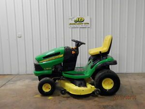 "2009 John Deere LA145 48"" Riding Mower Lawn Tractor 22HP"