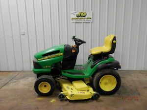 "2008 John Deere LA175 54"" Riding Mower Lawn Tractor 26HP"