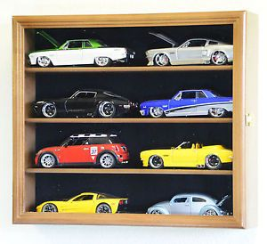 1 24 Scale Diecast Model Car Display Case Rack Holder 8 Cars NASCAR Hot Wheels
