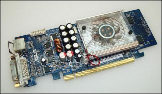 256MB PCI E Asus GeForce 8400 GS DVI Graphics Card Missing Faceplate