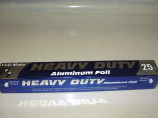 Foil Mate Heavy Duty Aluminum Foil 25 Sq ft 25 ft 12 In