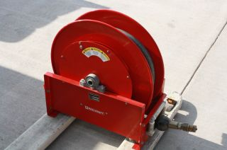 "Reelcraft D9450 Olpbw Heavy Duty Hose Reel Air Water 1"" Diameter 250 PSI"