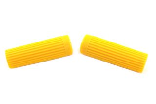 Yellow Grip Original Rib Style XL Harley