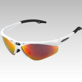 Venzo Bicycle Bike Cycling Sunglasses White