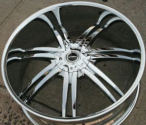 "26"" Black Chrome Rims"
