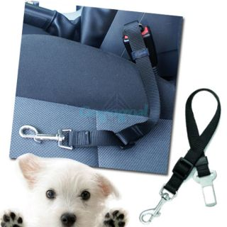 Adjustable Pet Dog Cat Car Safety Seat Belt Harness Puppy Restraint Lead Rope