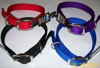 Prism Classic Double Ply Nylon Dog Collar by Weaver Leather Amish Handcrafted