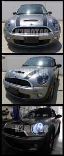 2007 2012 Mini Cooper Black Halo Pro Projector Headlights Lamps