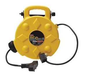 Bayco Professional 13 Amp 50 Foot Retractable Cord Reel 3 Outlets SL 8903 New