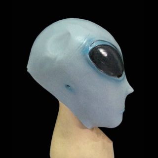 Big Eyes Roswell Alien Mars Head Face Cosplay Costume Halloween Prop Party Mask