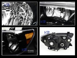 2008 2012 Toyota Sequia JDM Black Crystal Headlights Depo Tundra