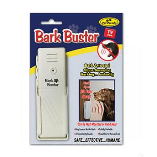 Pet Parade Dog Bark Buster Sonic Trainer Stops Barking Bark Off No Collars