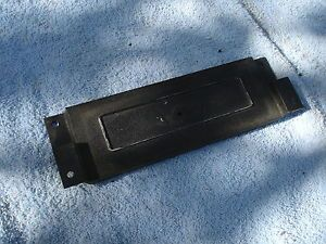 1969 1970 Mustang Clock Delete Plate Original Part Number C9ZZ 6504428 A