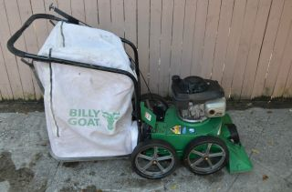 Billy Goat Professional Leaf Lawn Litter Vacuum with New Bag