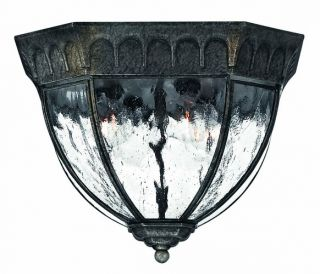 Hinkley Lighting H1713 Traditional Classic 4 Light Outdoor Ceiling Fixture