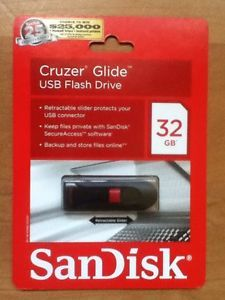 SanDisk 32GB Cruzer USB Flash Drive