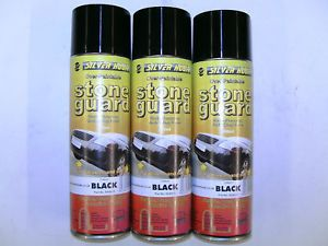 STONECHIP STONE CHIP GUARD AEROSOL aerosols SPRAY PAINT BLACK 500ml