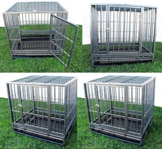 "New XL 42"" Heavy Duty Level III Dog Pet Cage Crate Kennel Playpen Exercise Pen"