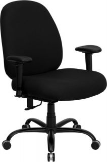 Big Man Office Chair Heavy Duty Weight Capacity 400lbs with Arms