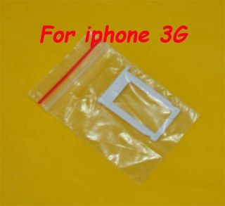 1 White Sim Card Slot Tray Holder for iPhone 3G S
