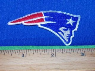 "New England Patriots NFL AFC Pats Mascot Logo 3"" Patch"