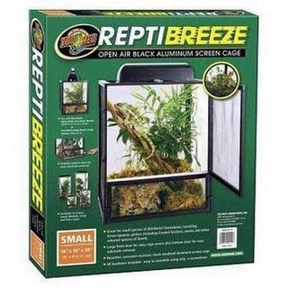 "SZMNT11 Zoo Med Laboratories Reptibreeze Alum Screen Cage 16""x16""X30"""