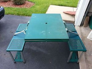 Greatland Folding Picnic Table Travel Picnic Table
