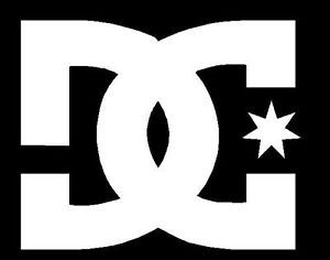 "4 1"" DC Shoes Logo Extreme Monster 43 Block Skate Vinyl Decal Sticker S373"