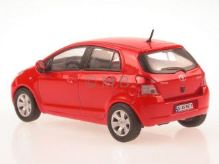 Toyota Yaris Red Diecast Model Car Cararama 1 43