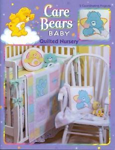 Care Bears Quilting Pattern Book Baby Quilted Nursery Quilt Blankets Patterns