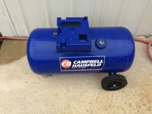 Campbell Hausfeld Air Compressor Replacement Tank 20 Gallon Portable with Wheels