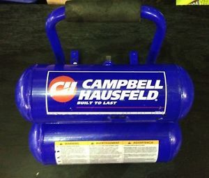 2 Gallon Air Compressor Tank Campbell Hausfeld Portable Onboard Air System