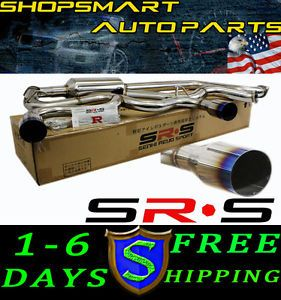 SRS Type R1 Catback Exhaust Systems 03 05 Dodge Neon SRT 4 Burn Tip SRT4 03 04