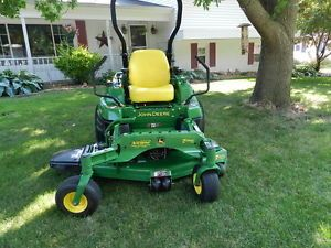 "John Deere Z910A Zero Turn Riding Lawn Mower 99 Hours 54"" 7 Iron Pro Deck"
