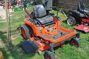 "22HP Kubota ZG222 Zero Turn Riding Lawn Mower 48"" Deck ROPS ZG222Z ZG 222 HST"