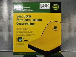 John Deere Gator Riding Lawn Mower Seat Cover Medium LP92324