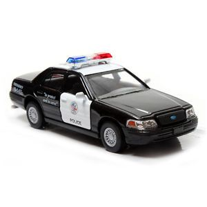 Ford Crown Victoria Police Interceptor 1 42 Black Diecast Mini Cars Kinsmart S10