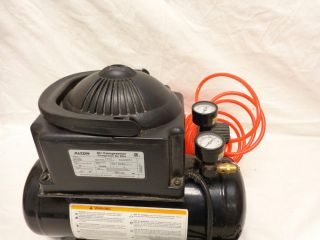 Alton AT0110 Portable 2 Gallon Tank Air Compressor Black