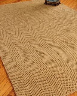 Naples 6x9 Hand Woven All Natural Jute Area Rugs