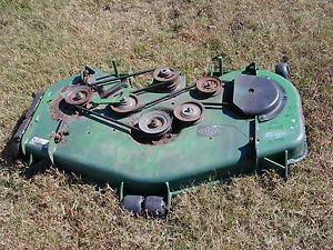 "3 John Deere M655 Z Trak Zero Turn Riding Lawn Mower 52"" Mow Deck"