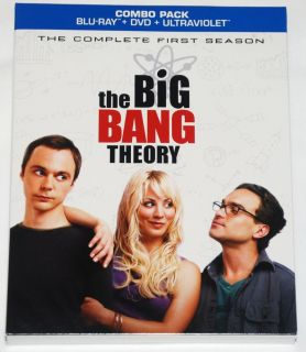 Collectible Slipcover for The Big Bang Theory Season 1 Blu Ray Slipcover Only
