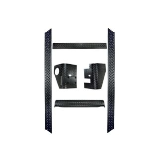 1997 2006 Jeep Wrangler Rugged Ridge Body Armor Kit