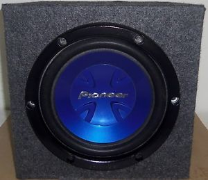 "Pioneer TS W251R 10"" 600W Component Subwoofer Nice Pre Owned Condition"
