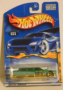 NIP 2000 Hot Wheels Mattel Wheels Collector Number 054 Turbo Taxi Series No 2 4