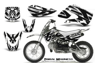 Kawasaki KLX110 02 09 KX65 02 12 Graphics Kit Creatorx Decals TMW